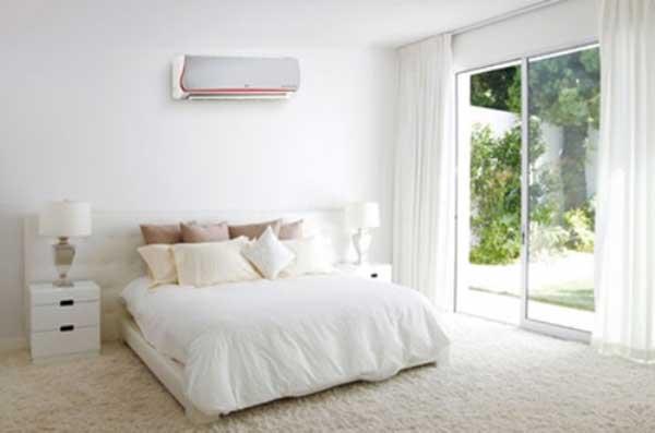 Bày trí máy điều hòa nhiệt độ trong gia đình sao cho tiết kiệm điện mà hợp phong thủy