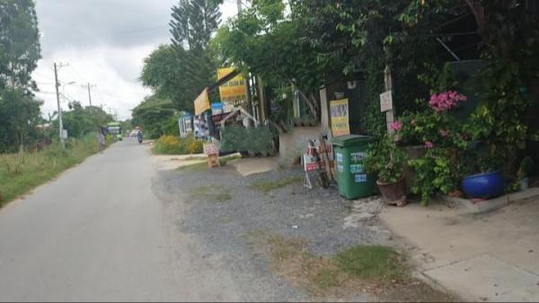 Chính chủ bán đất Củ Chi, dt: 6 15, mặt tiền Cây Da, Tân Phú trung, giá 860 triệu